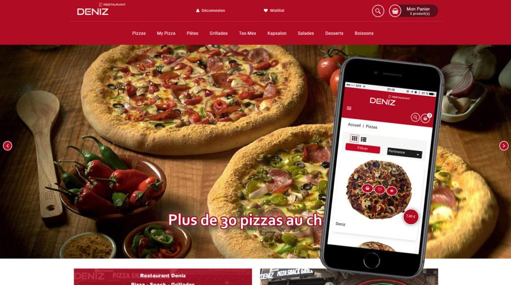 Deniz Restaurant - Livraison de pizza à Roubaix