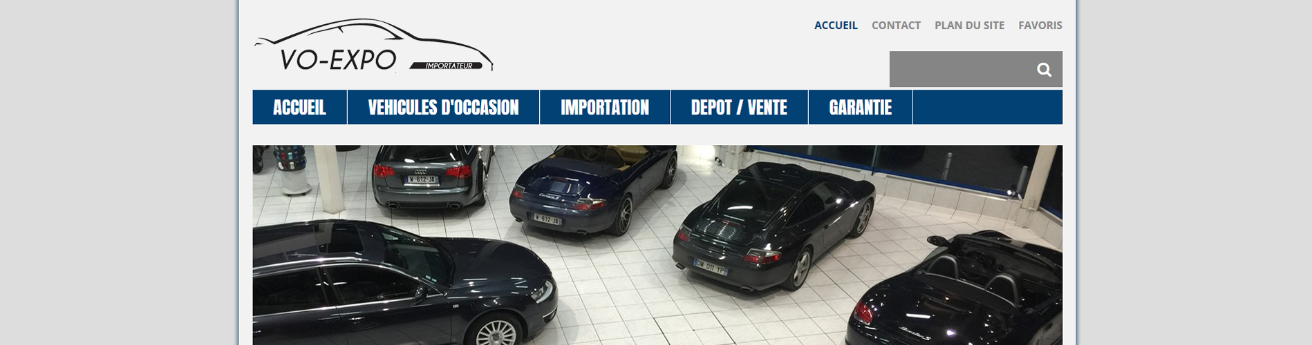 Vente de voitures Porsche, Audi, BMW