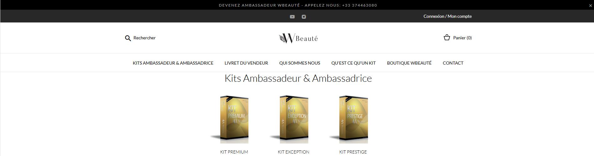 Ambassadeur Wbeauté